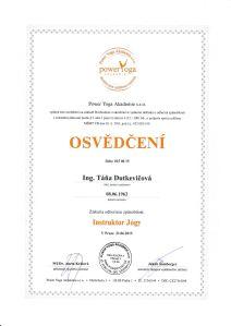 PYA_Osvedceni_Instruktor jogy